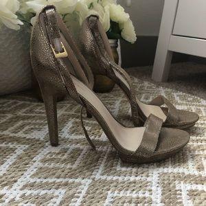 Calvin Klein Platform Heel Sandals NWOT